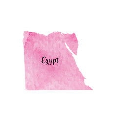 Abstract egypt map vector