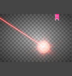 Abstract red laser beam laser security beam vector