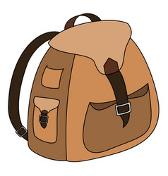backpack-2-1 vector image