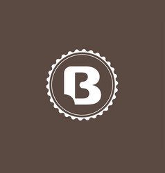 bakery logo template vector image