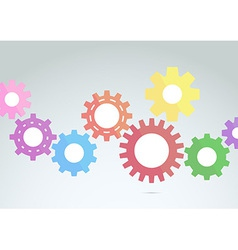Engineering graphic concept - technology vector image