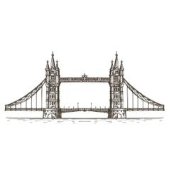 england logo design template london vector image