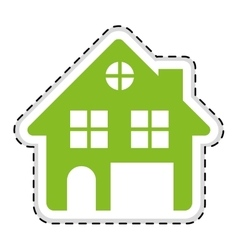 House pictogram icon image vector