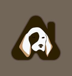 Pet house logo vector