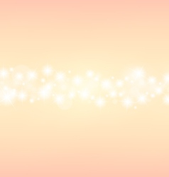 romantic abstrack sparkling center background vector image