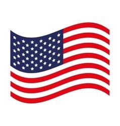 Usa flag icon image vector