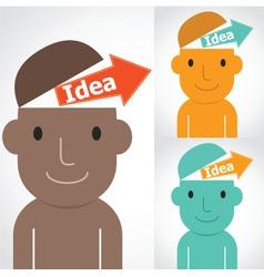 idea Man vector image vector image