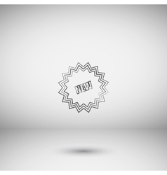 Novelty Web Icon vector image