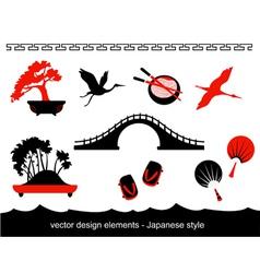 Japan Set vector image vector image