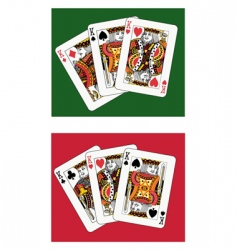 kings vector image vector image