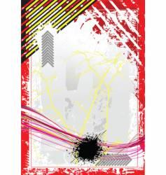 grunge blank background vector image