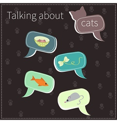 About cats vector