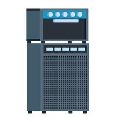 Amplifier equipment icon vector