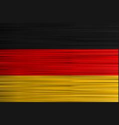 concept german flag black red golden vector image