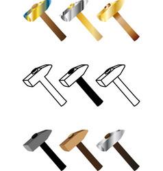 hammer sethammer vector image