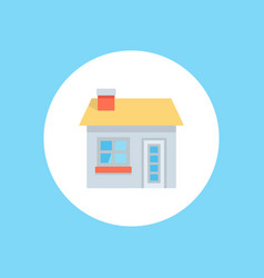 home icon sign symbol vector image