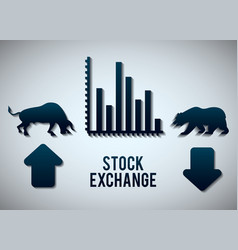 Stock exchange icon design vector