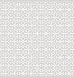 subtle seamless grid pattern light grey and white vector image