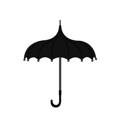 abstract old umbrella vector image
