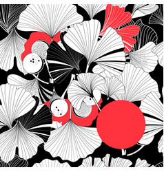 beautiful graphic patterns are seamless vector image