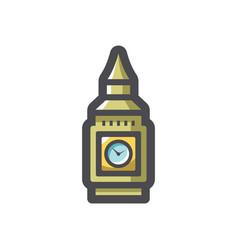 big ben tower icon cartoon vector image
