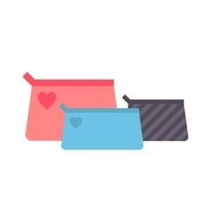 Clutch handbag vector image