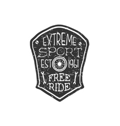 Extreme Sport Vintage Badge vector