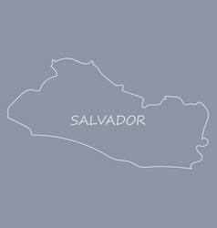 Flag of the republic of el salvador overlaid on vector