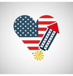 Independence day celebration design vector