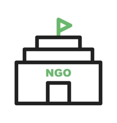 Ngo building vector