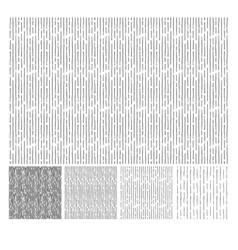 Pattern of vertical hatching grunge texture vector