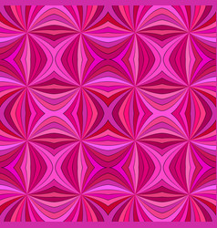 pink seamless abstract psychedelic curved stripe vector image