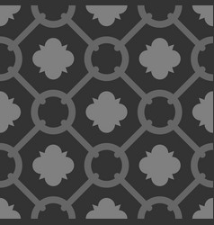 tile grey and black decorative floor tiles pattern vector image