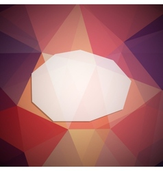 Geometric frame vector image vector image