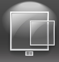 Glass boards vector image vector image
