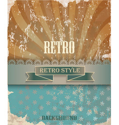 retro texture vector image vector image