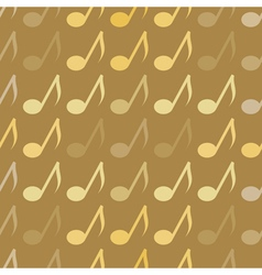 seamless abstract background with notes vector image vector image