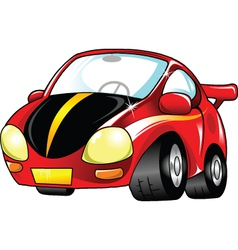 small red car vector image vector image
