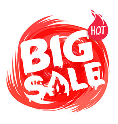 big sale banner template discount banner template vector image