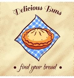 Bread On A Napkin 25 vector