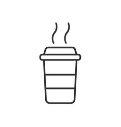 Coffee cup icon business concept coffee mug vector