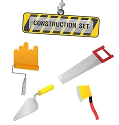 Construction Symbol Icon Object Set D vector