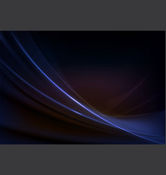 Elegant dark background of blue purple hues with vector