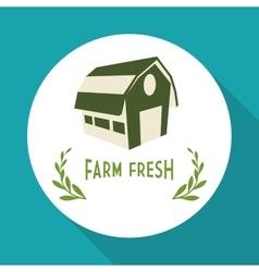 Farm Fresh design Organic food Healthy lifestyle vector