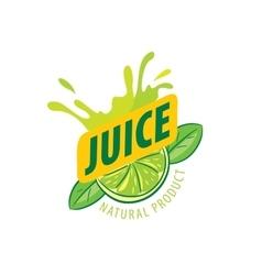 Logo juice vector