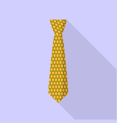 party tie icon flat style vector image