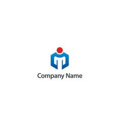 People leadership mentor logo vector