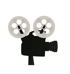 retro film camera vector image