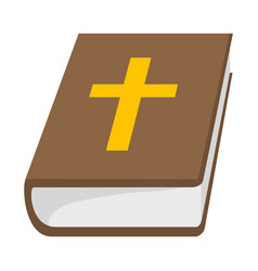 saint bible cartoon vector image