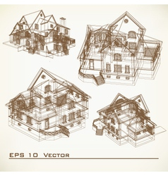 Set of Architectural Elements vector
